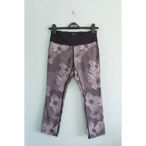 Nike   Epic Run Cropped Patterned Legging Tights